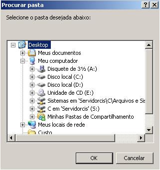 CIS_ERP_Selecionar_Pasta