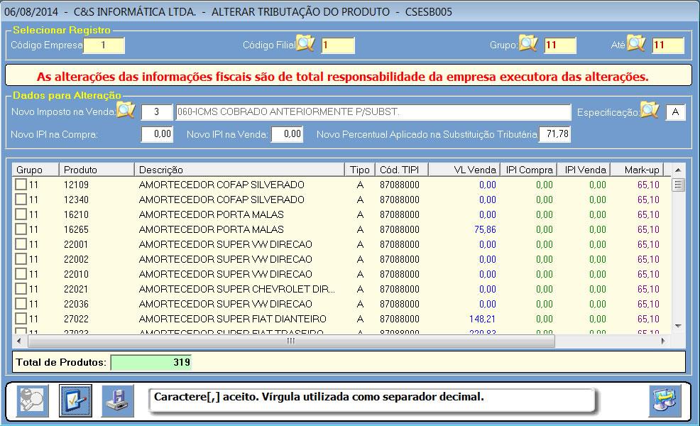CSESB005_CIS_ERP_Alterar_mkp_iva_st_01