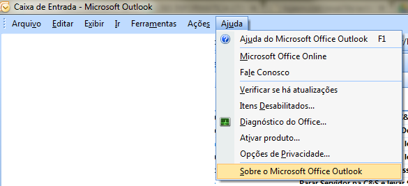 verificar-versao-do-outlook