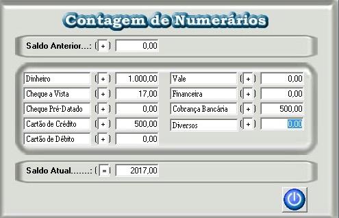 Contagem de Numerario