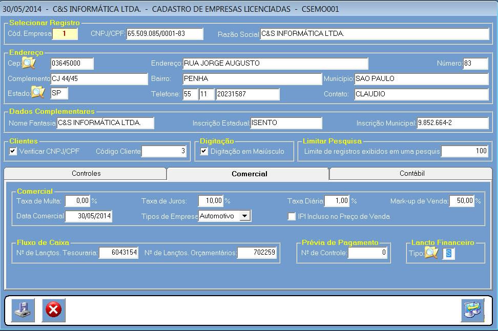 CSEMO001_CIS_ERP_Lancamento_Extrato_01