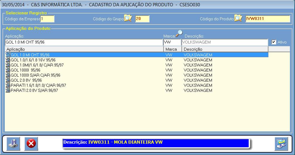 CSESO030_CIS_ERP_Cadastrar_Aplicação_Produto